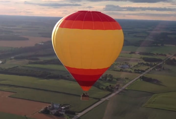 stratford balloon rides by cloud chasers new hot air balloon